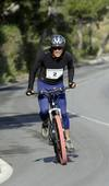 Primera subida en bicicleta al Castillo en el Día del Policía