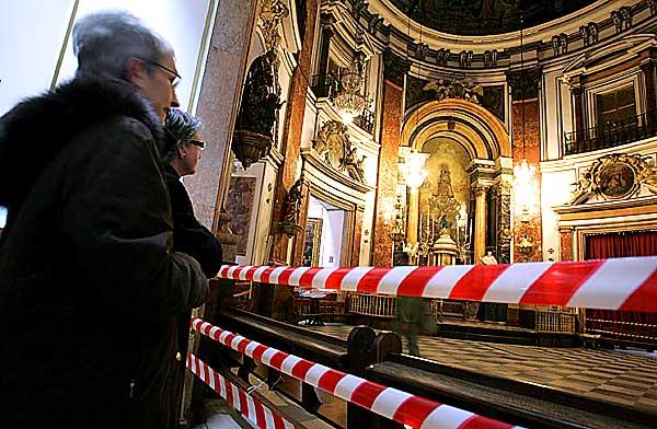 La Basílica cierra sus puertas durante 14 meses