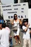 Concentración de trabajadores de Viajes Marsanz en Valencia