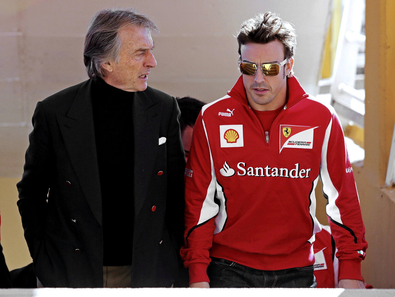 Ferrari World Finals en el circuito en Cheste