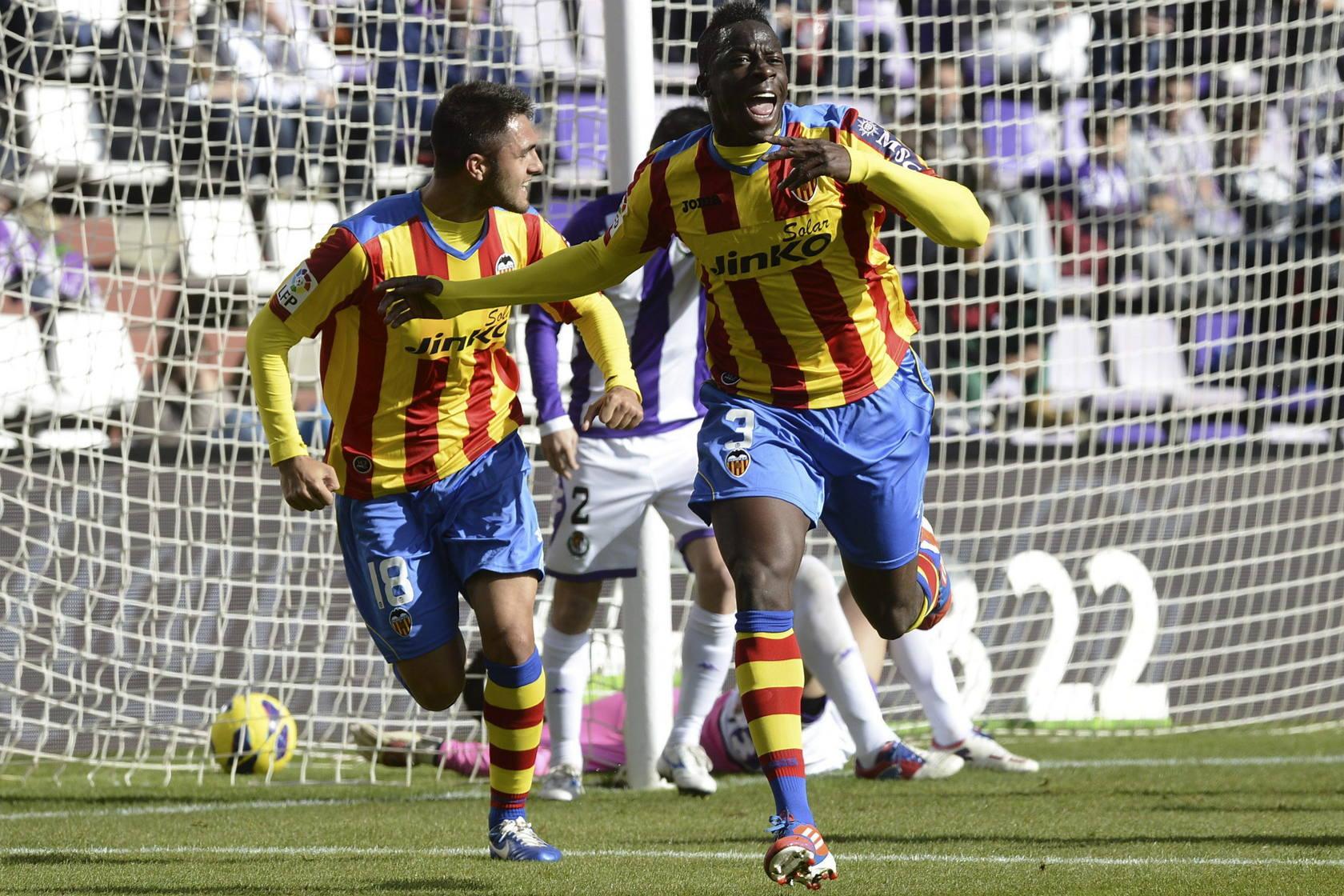 Valladolid 1 - Valencia 1