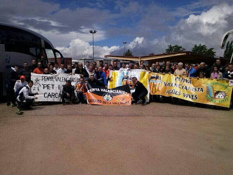 Caravana valencianista a Getafe