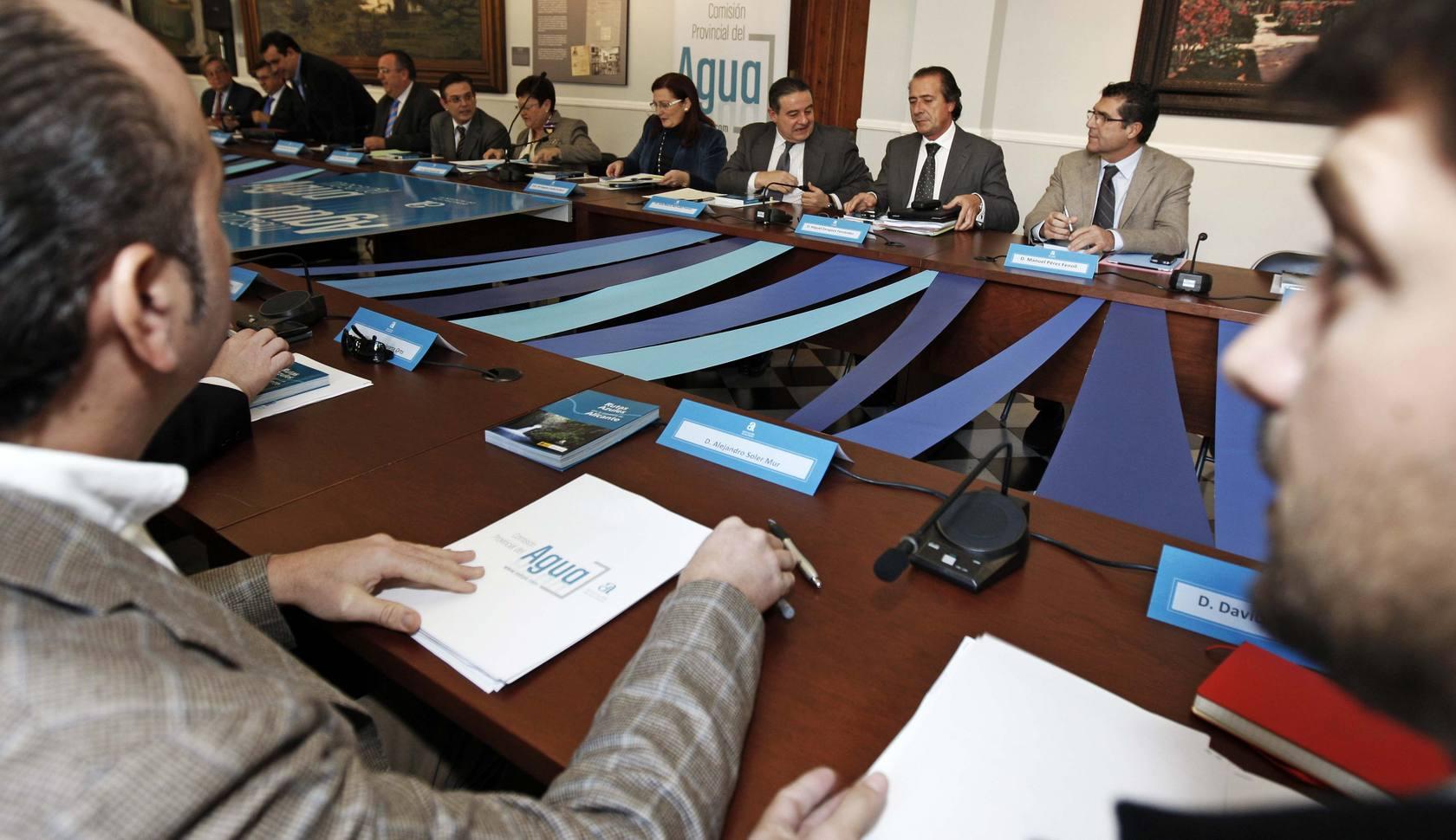 Reunión de la Mesa del Agua para tratar la situación hídrica de la provincia
