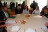 Primera edición de desayunos de las candidatas a Bellea de Foc