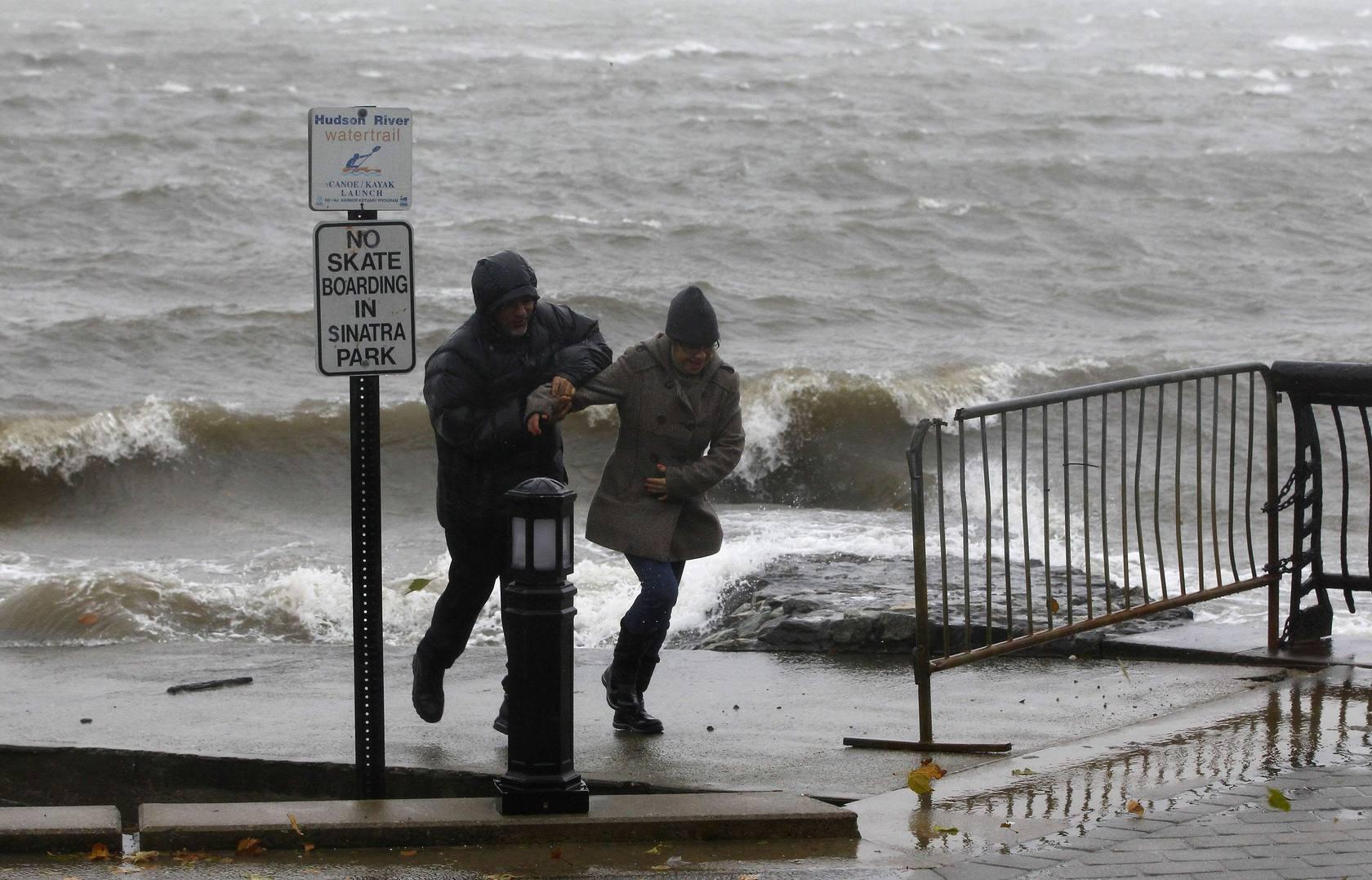 El huracán 'Sandy' impacta en EE UU