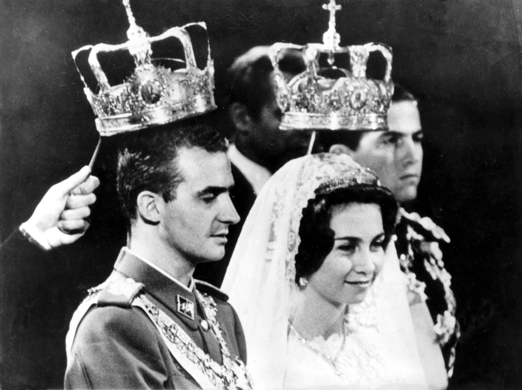 50 años de matrimonio real