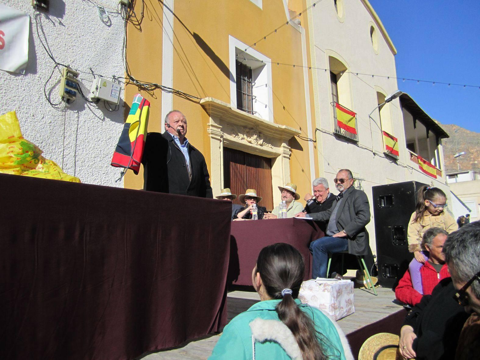 Festividad de San Antón en el barrio del mismo nombre de Orihuela