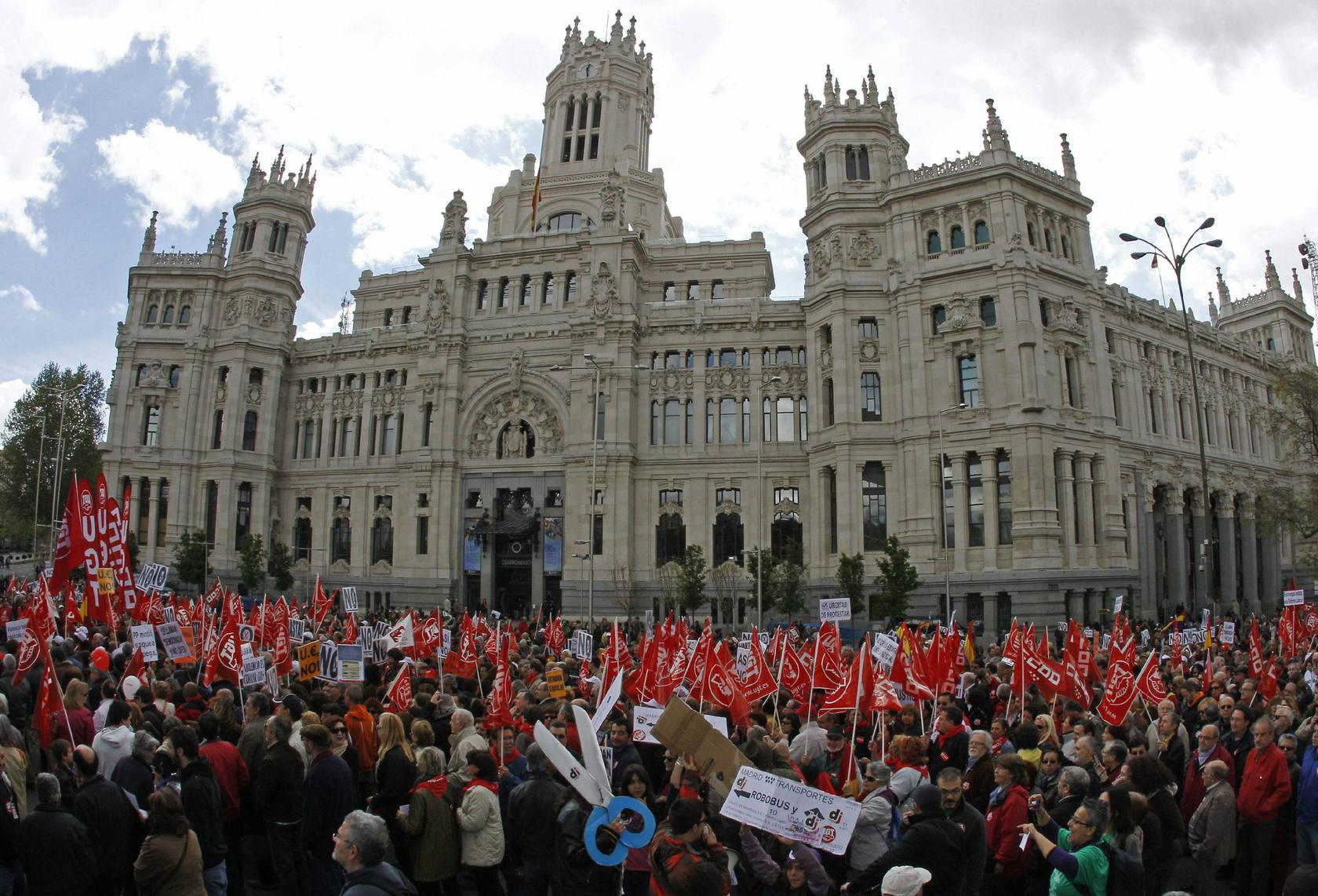 Manifestaciones Primero de Mayo
