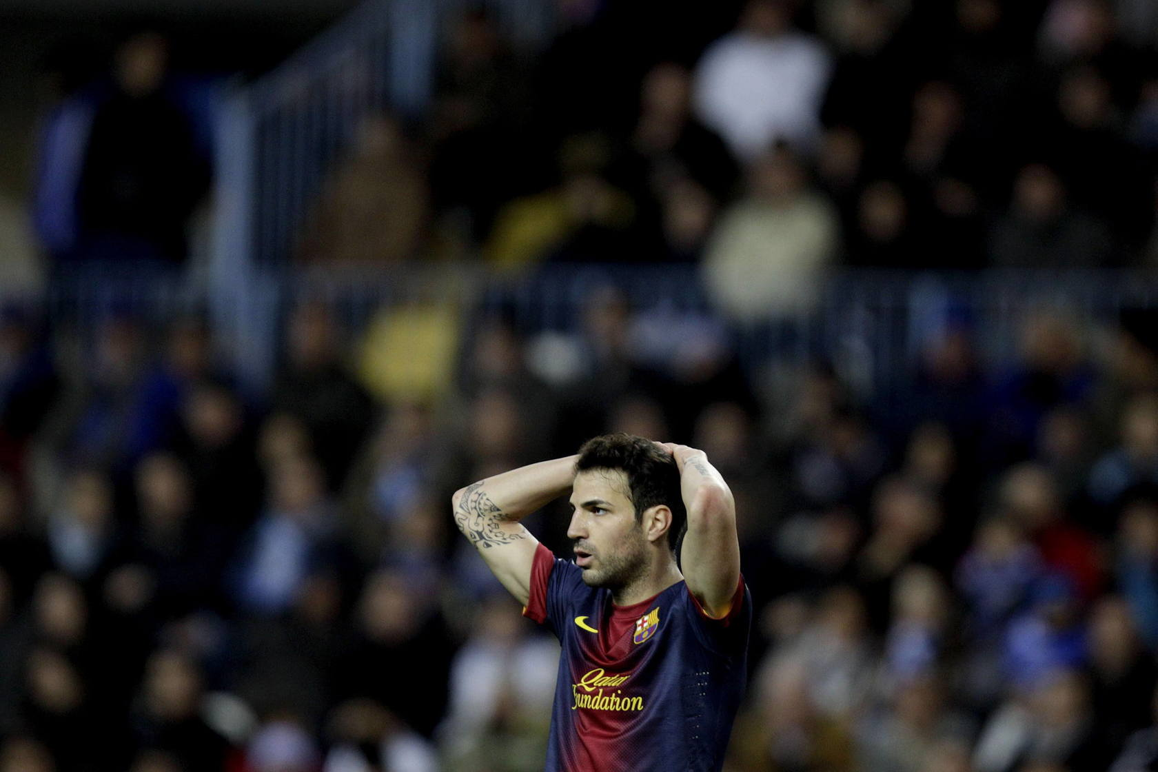 Málaga-Barcelona (Liga)