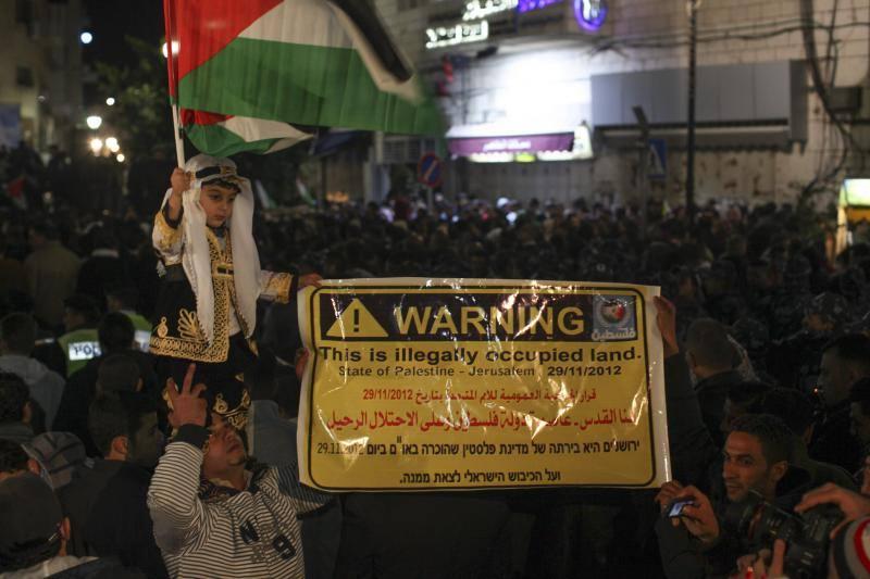 Palestina celebra la decisión de la ONU