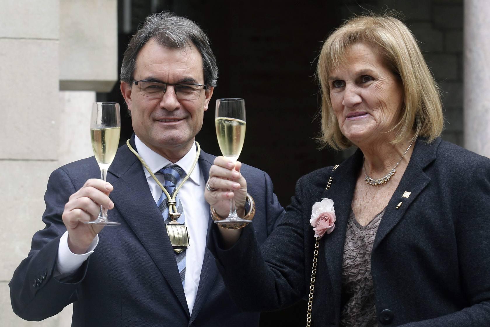 La investidura de Artur Mas