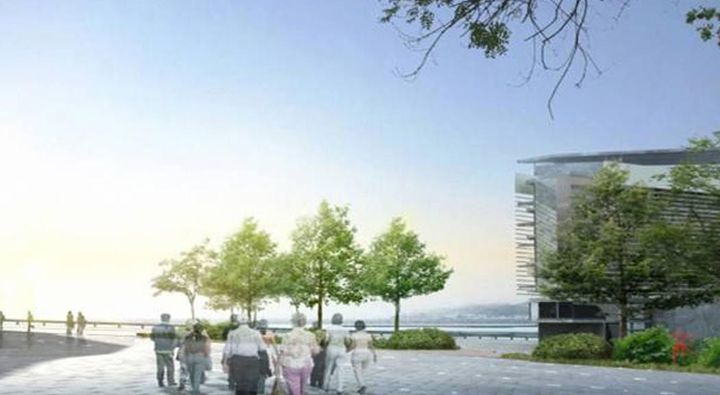 Arquitectura valenciana: frente marítimo en la Spezia