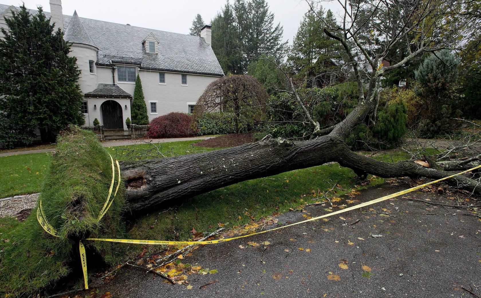 El huracán 'Sandy' deja Nueva York destrozado