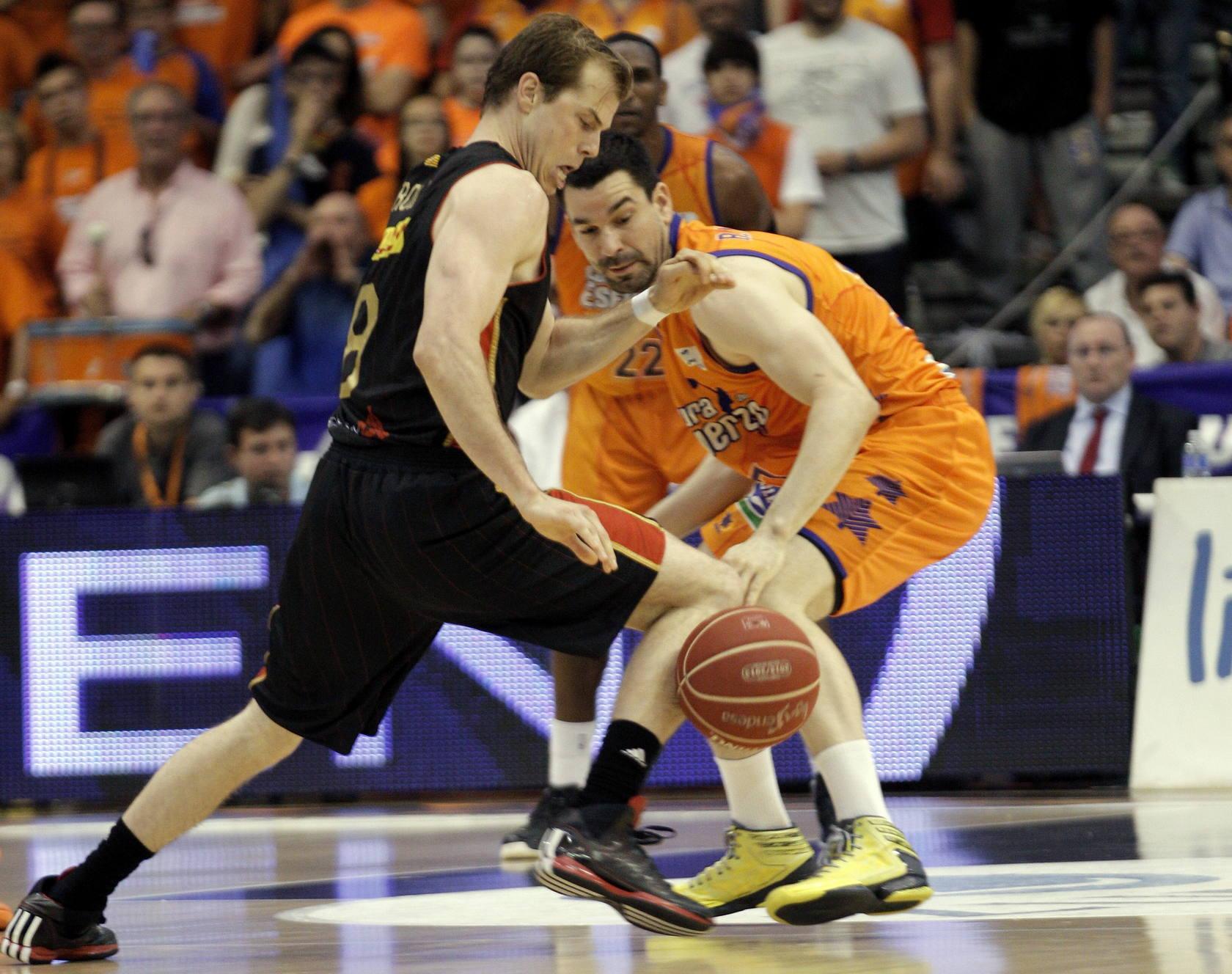 Las mejores imágenes del Valencia Basket-CAI Zaragoza
