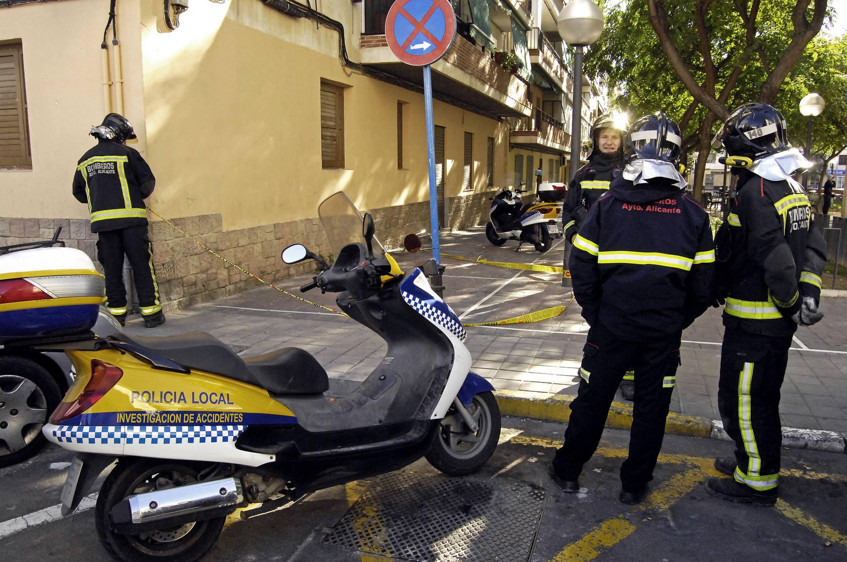Desperfectos provocados por el mal tiempo en Alicante