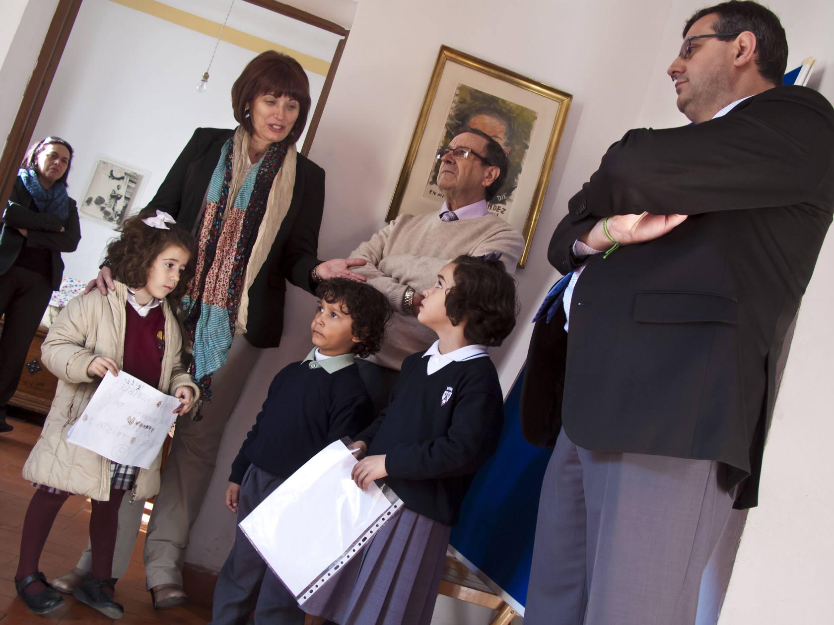 Entrega de los premios infantiles de la Fundación Miguel Hernández