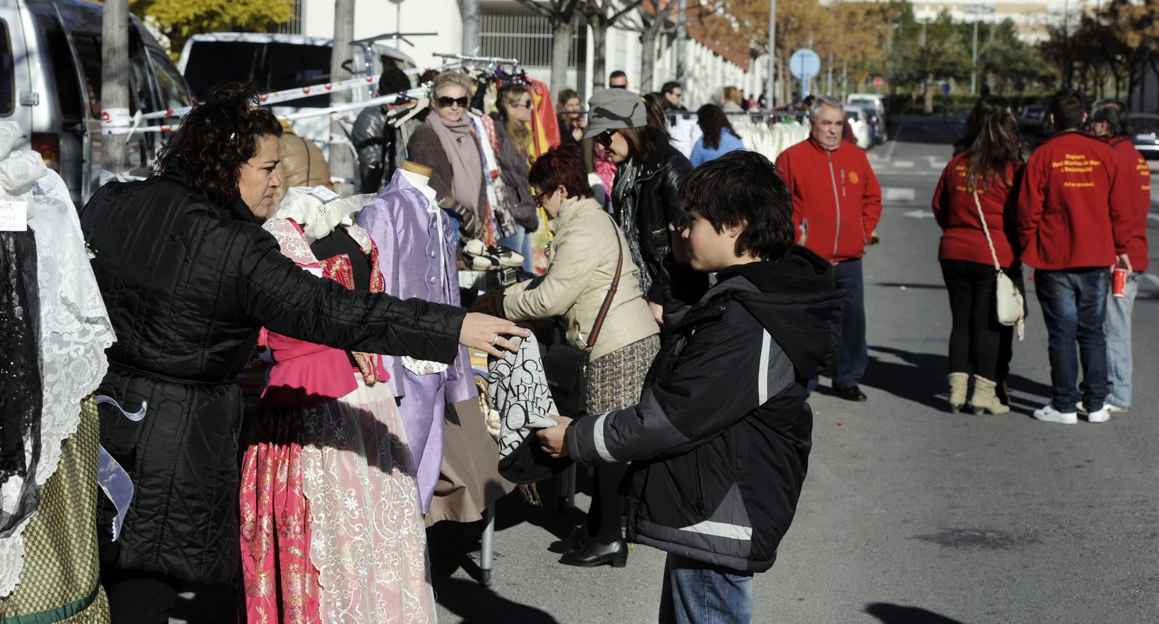 Mercadillo de trueque en Alicante, organizado por el Ayuntamiento e Inusa